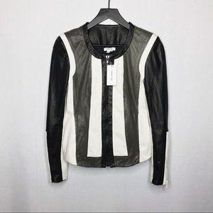 ▪️Helmut Lang▪️pax panel leather jacket